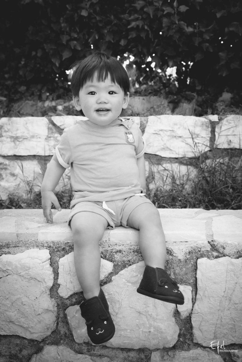 Portrait bébé photographe hautes alpes