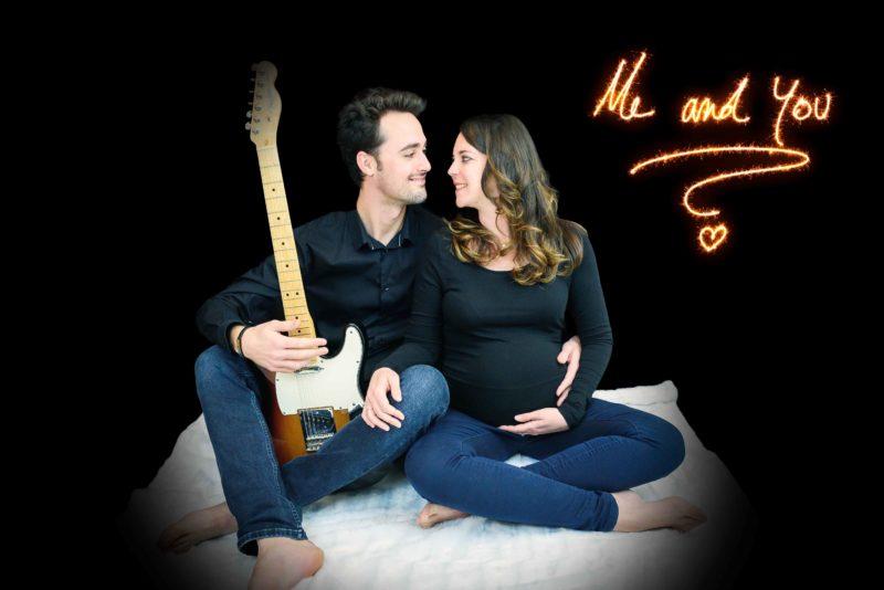 Photo Amoureux et guitare
