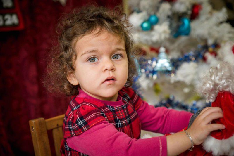 portrait bebe seance photo de noel