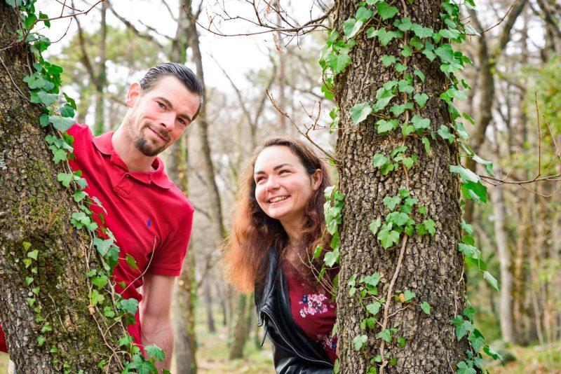 séance photo couple pour la st Valentin