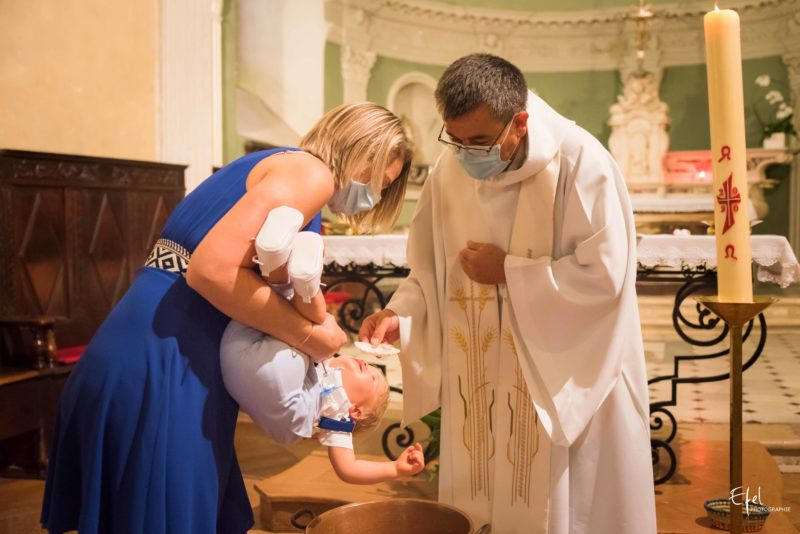 Photographie cérémonie de bapteme