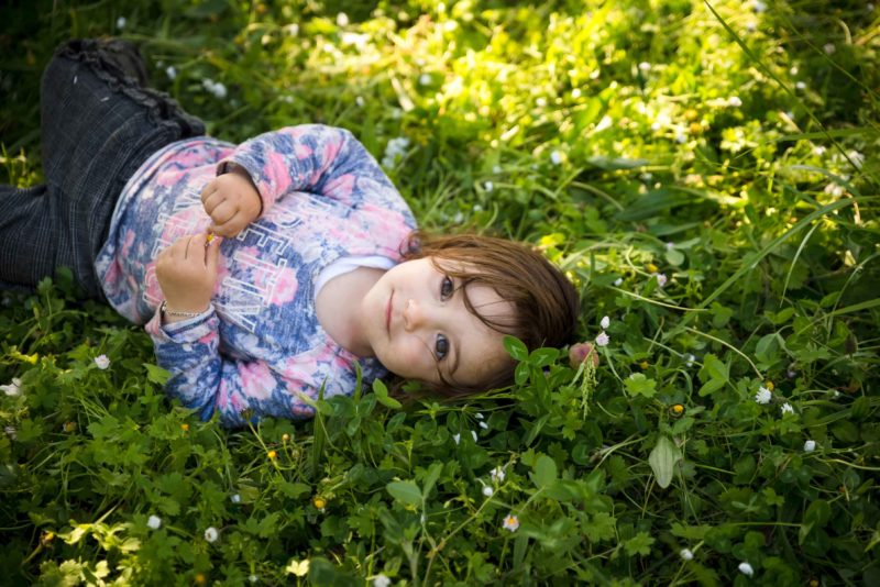 photo enfant nature Serre poncon