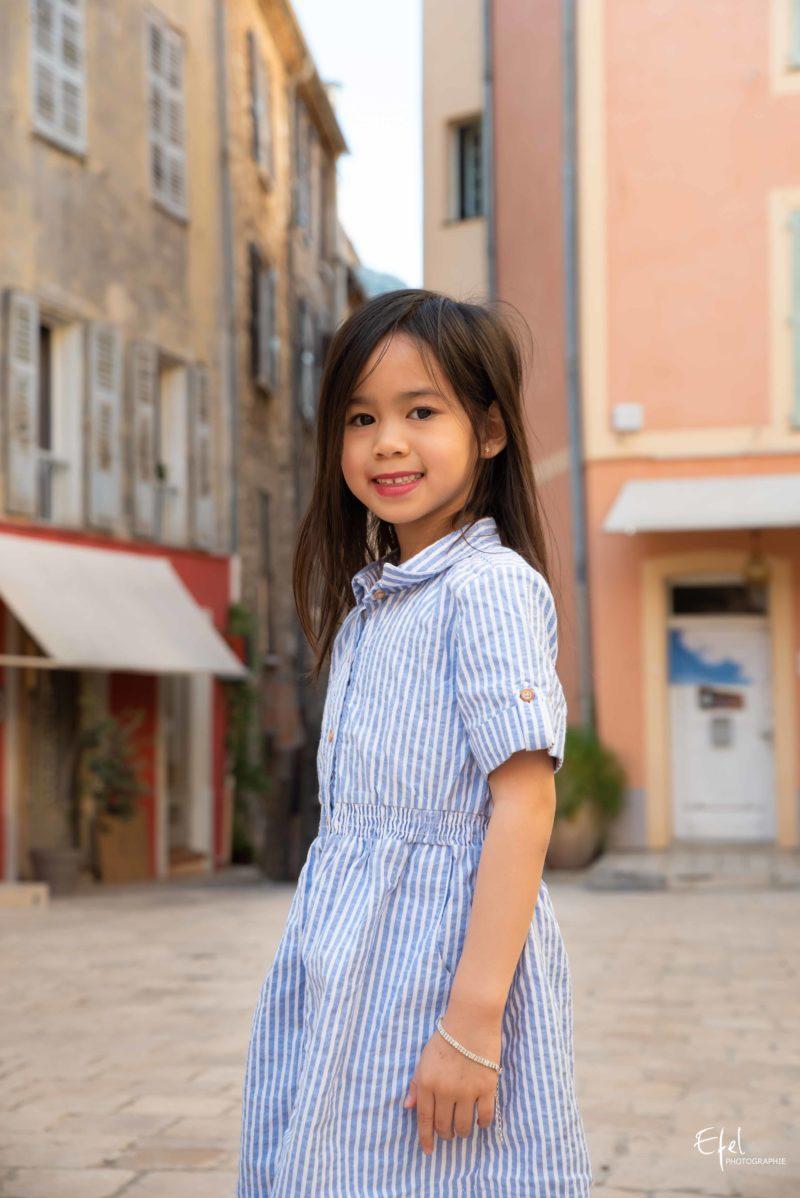 Portrait enfant photographe hautes alpes