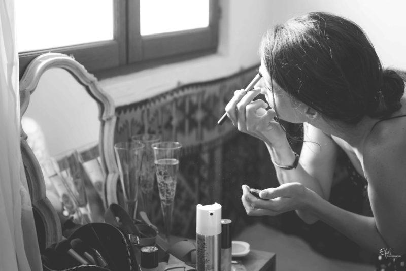 maquillage des témoins