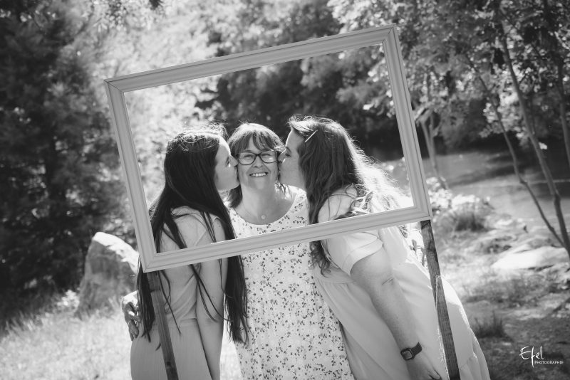 séance mère et filles photographe gap