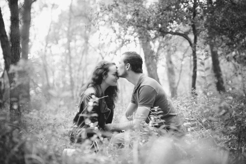 Amoureux dans la nature