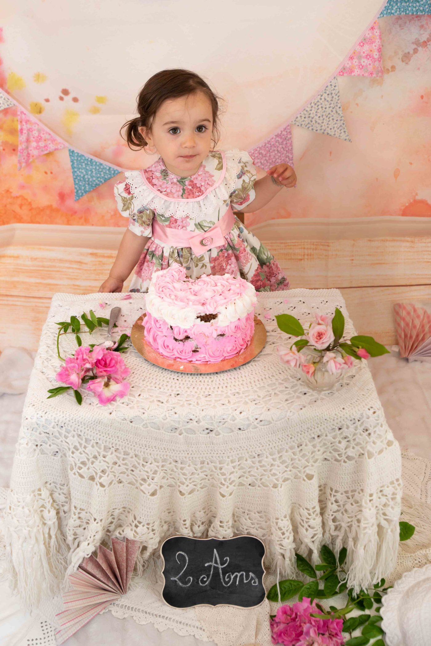 shooting smash the cake photographe bébé gap