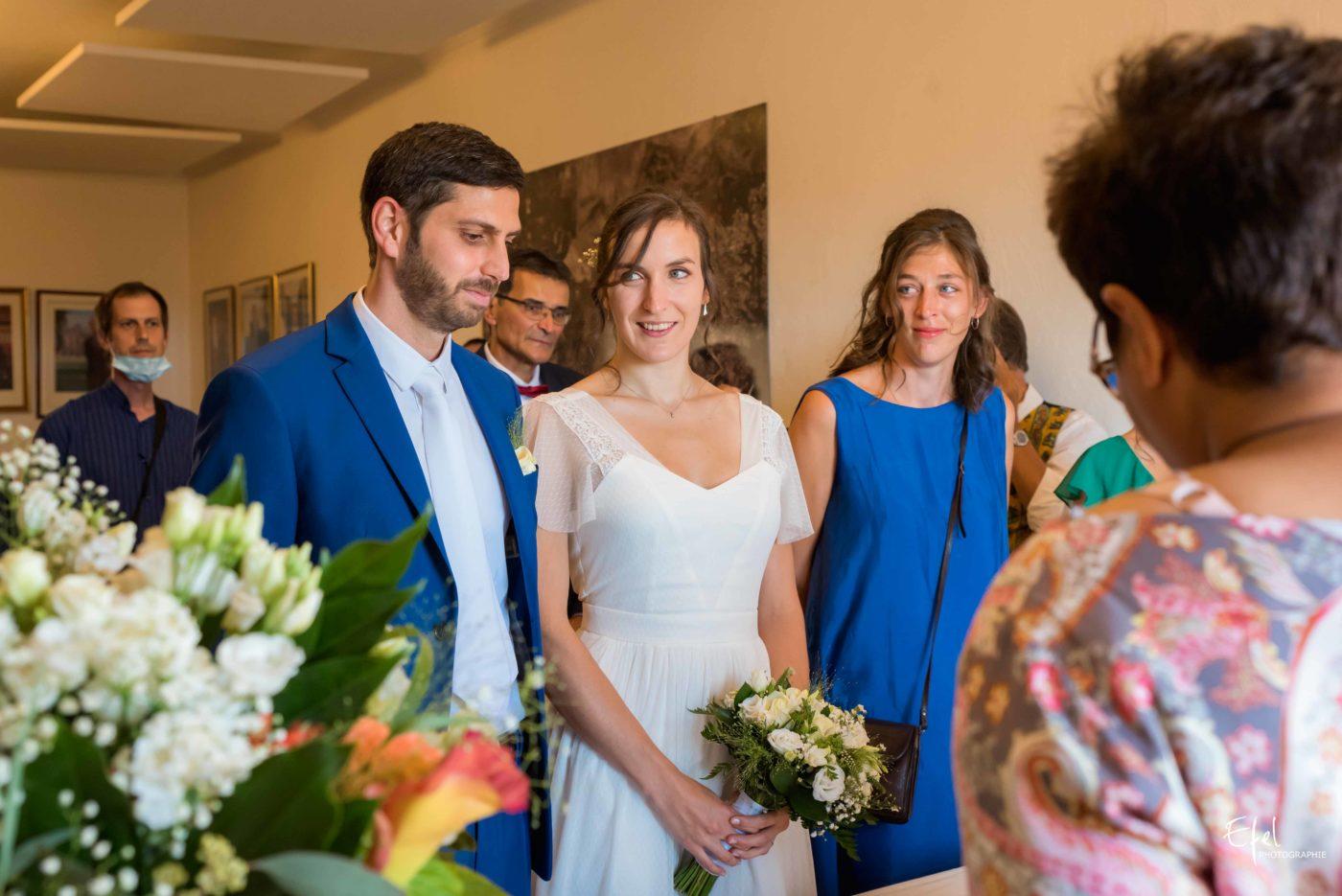 La cérémonie civile de mariage en mairie - photographe mariage gap, hautes alpes, et région Paca