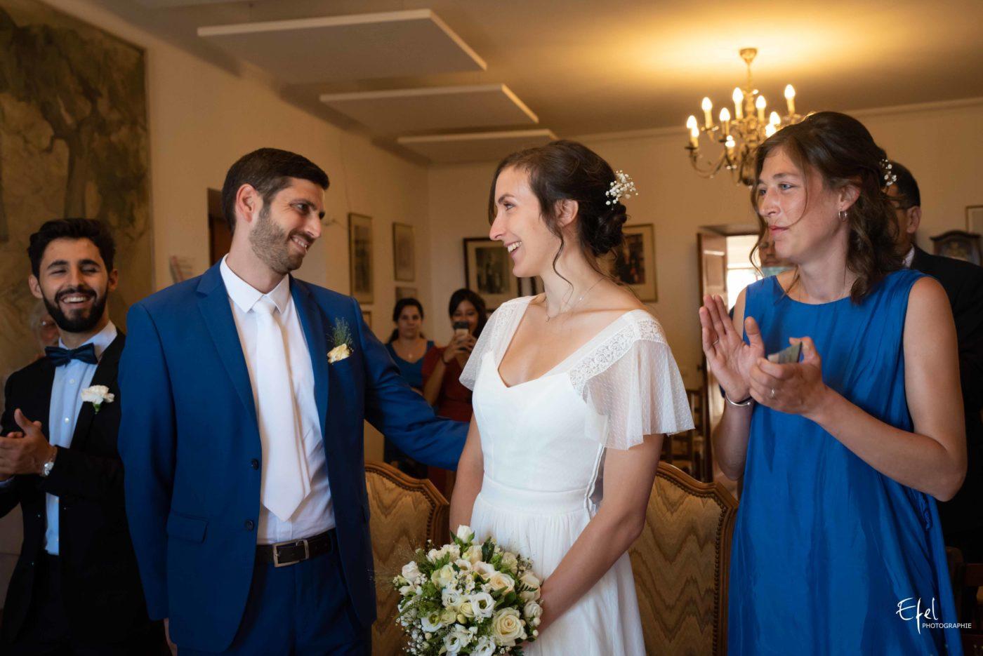Les mariés se disent oui - reportage de mariage dans les Hautes Alpes et en Provence