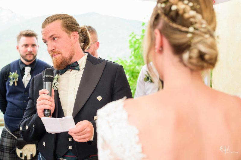 photos cérémonie mariage laïque hautes alpes