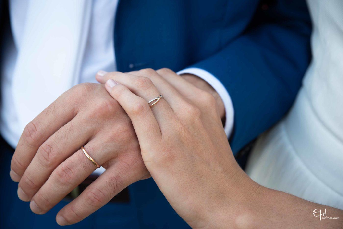 Les alliances des mariés - photographe mariage gap - photographe hautes alpes
