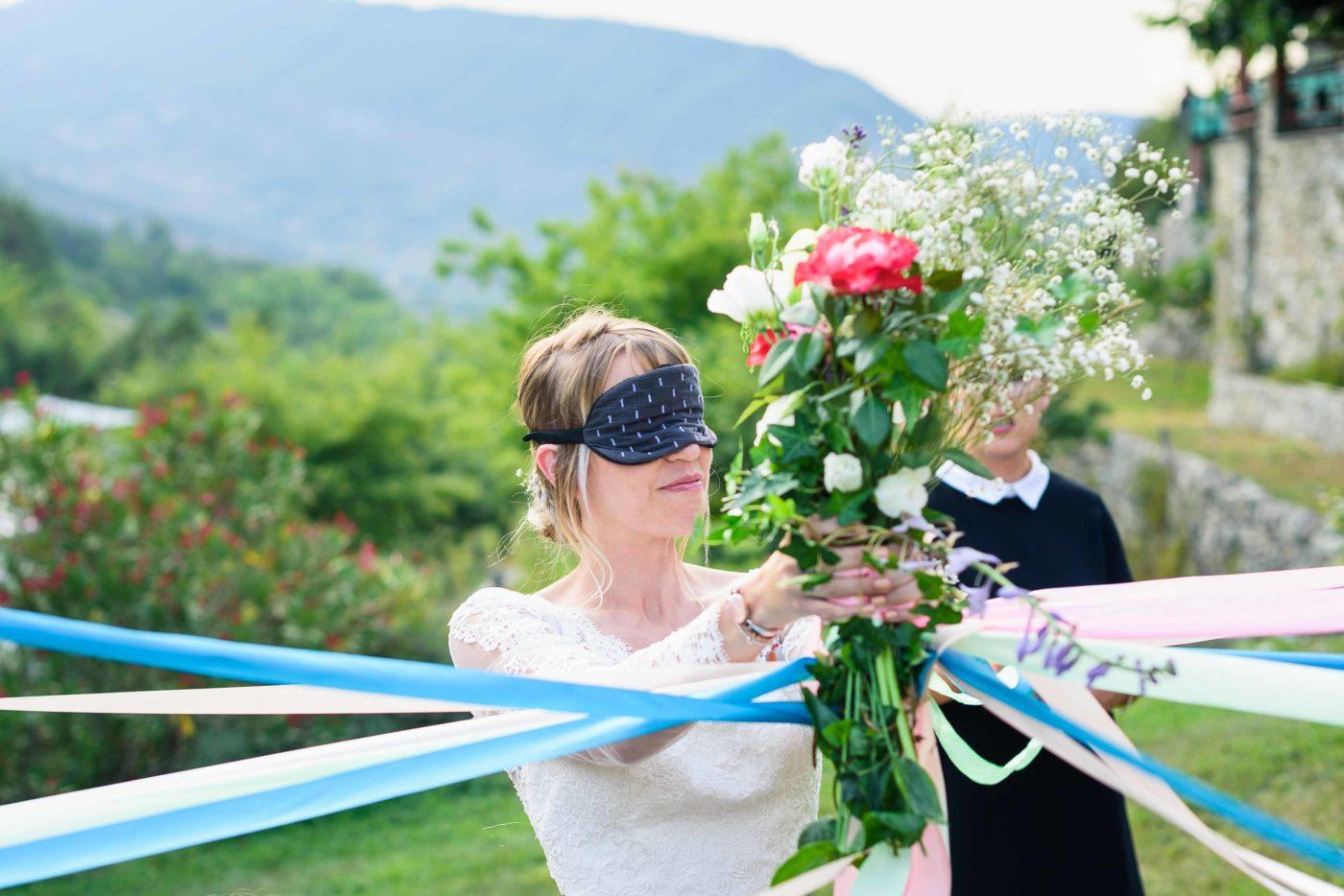 Photos bouquet mariée mariage hautes alpes et mariage gap