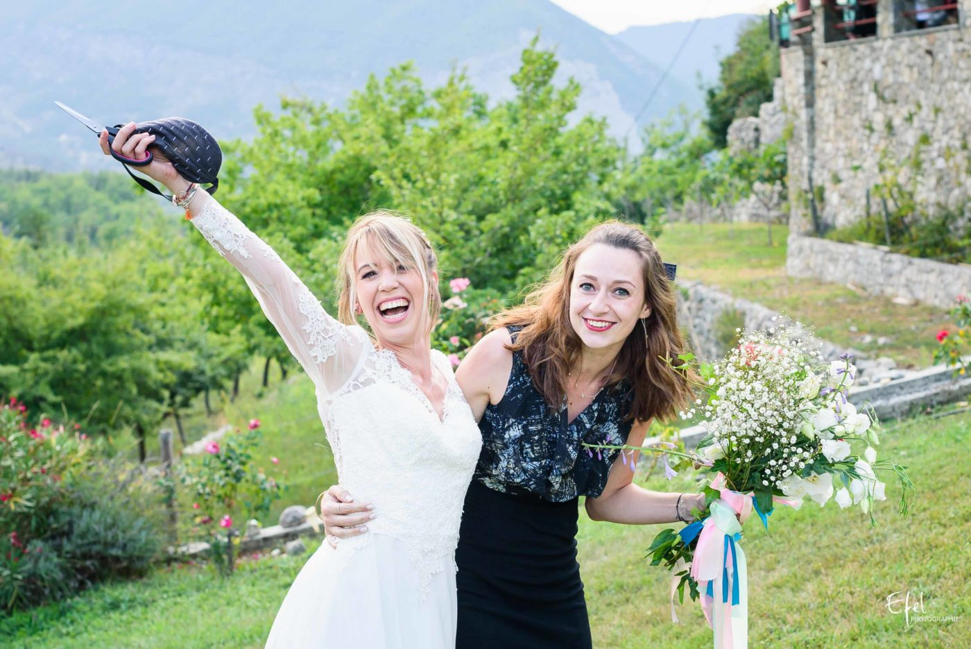 vive la future mariée - photographe mariage hautes alpes
