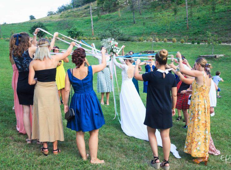 Photos bouquet mariée - photographe mariage alpes-maritimes