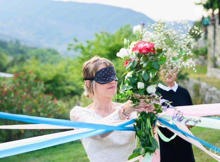 Le jeu du ruban photographe de mariage gap