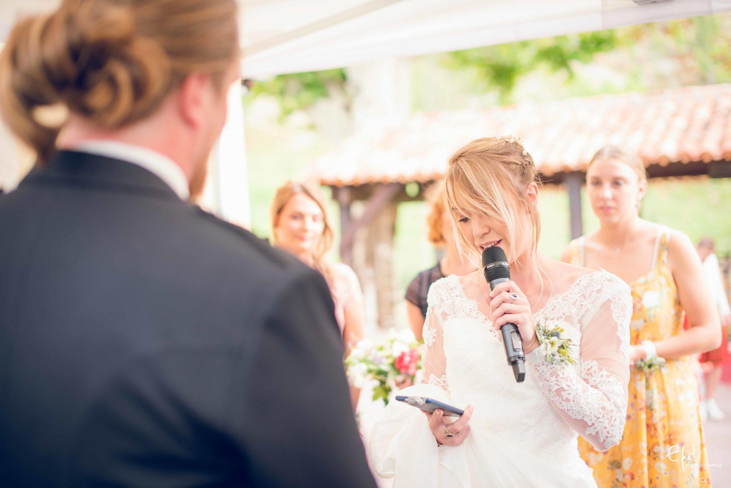 Photos cérémonie mariage laïque - l'histoire des mariés - photographe de mariage Gap