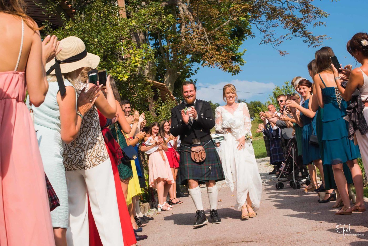 Mariage original en kilt dans les Alpes maritimes - photographe mariage Hautes alpes, Alpes Maritimes et région PACA