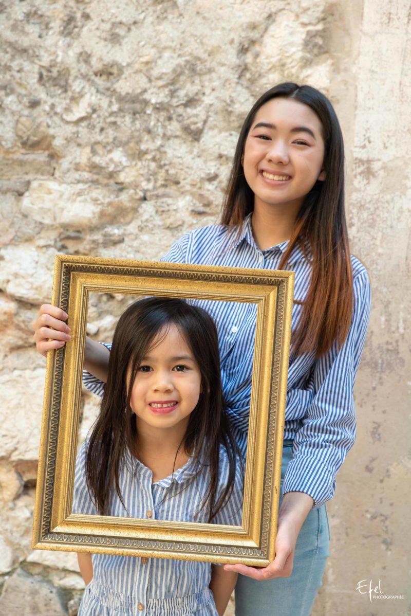 deux soeurs Photographe famille dans les hautes alpes