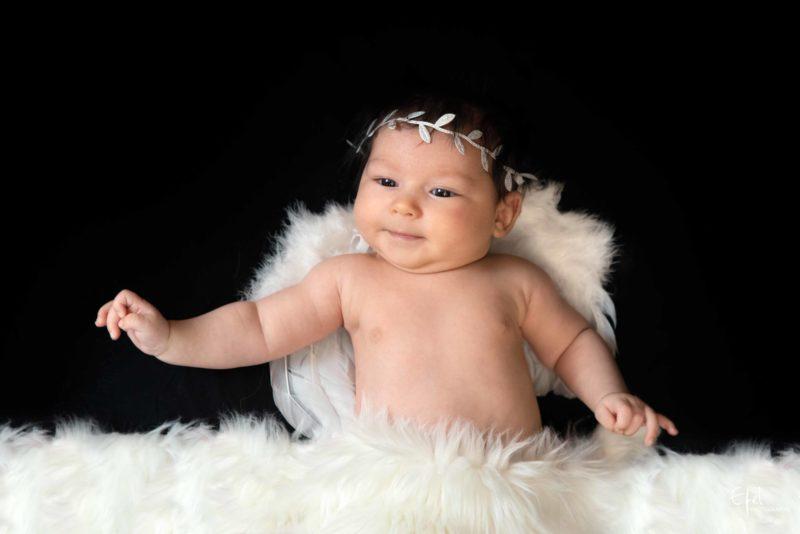 photographe nouveau né gap bébé ange