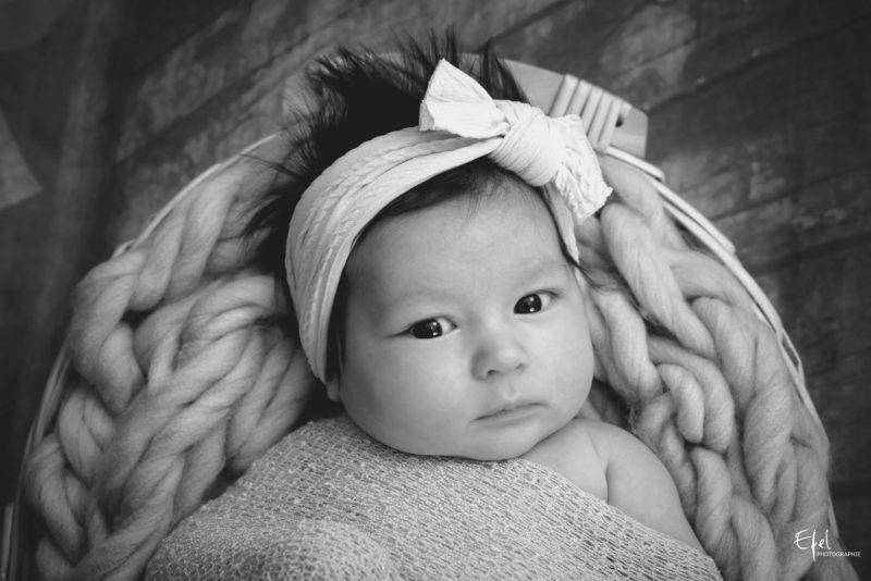 bébé fille 2 mois photographe Gap