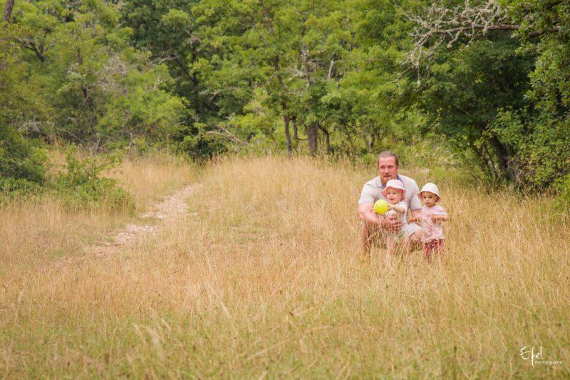 shooting photo en nature pere et filles photographe Allard