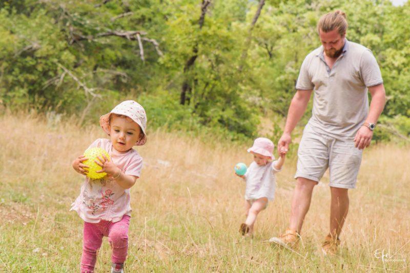 shooting famille en nature photographe veynes