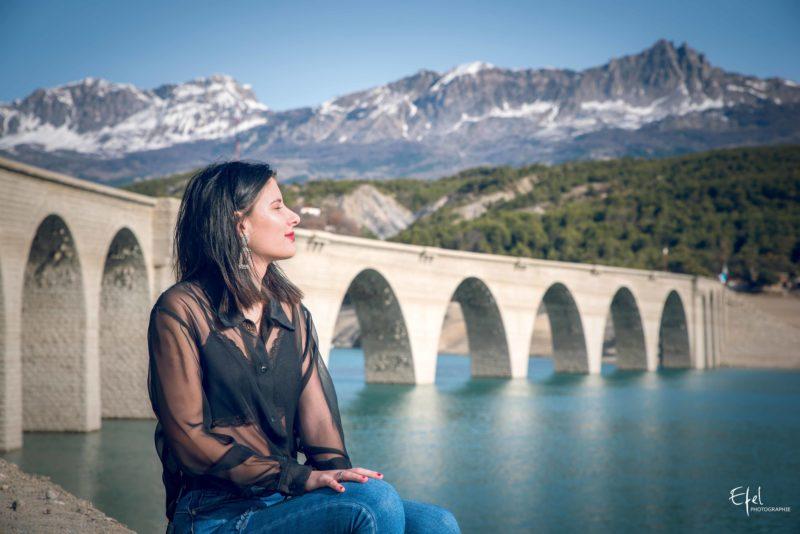 Photos de portrait Chorges aqueduc baie de chanteloube