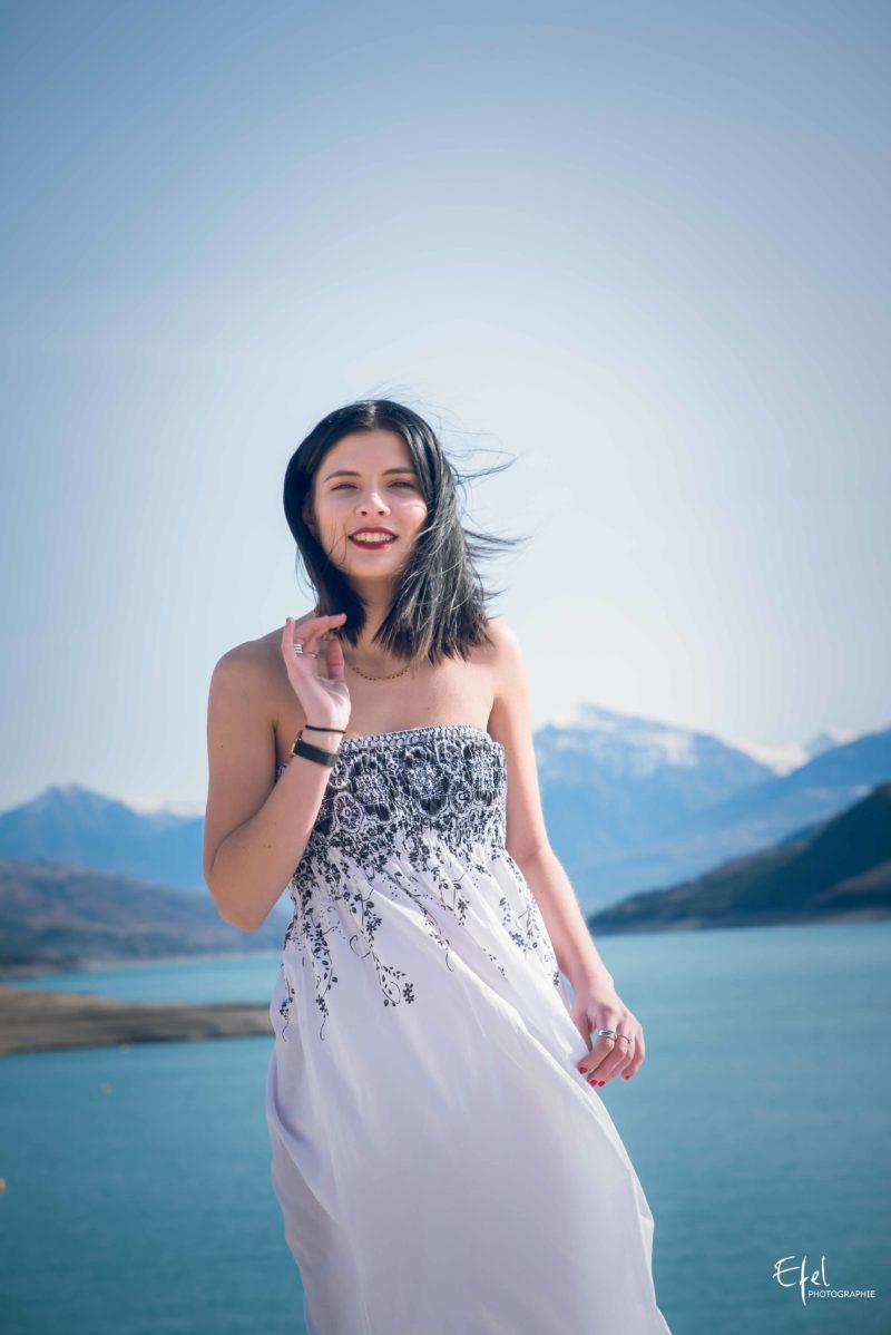 Photos de portrait Chorges lac de serre ponçon