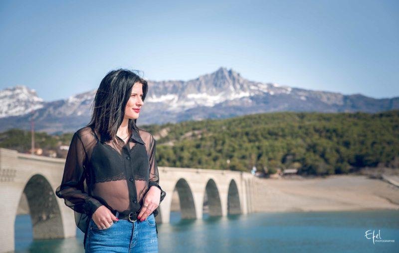 photographe gap portrait de femme en nature
