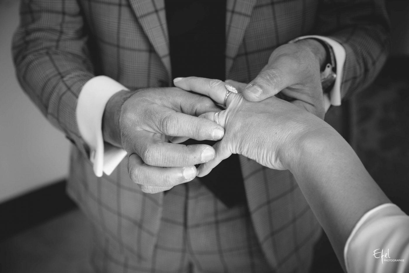 mariage gap échange des alliances