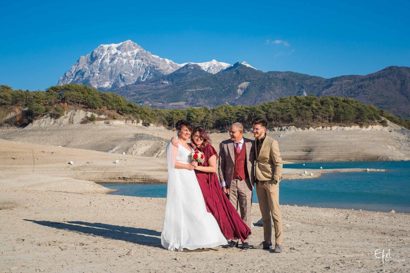 shooting famille mariage en montagne photographe gap