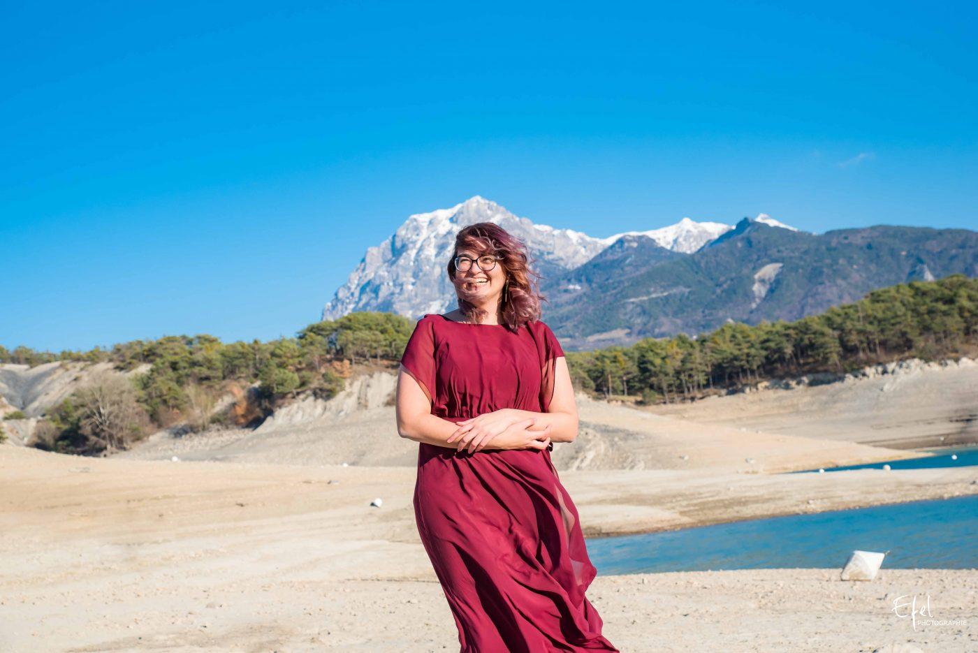 portrait mariage en montagne photographe chorges