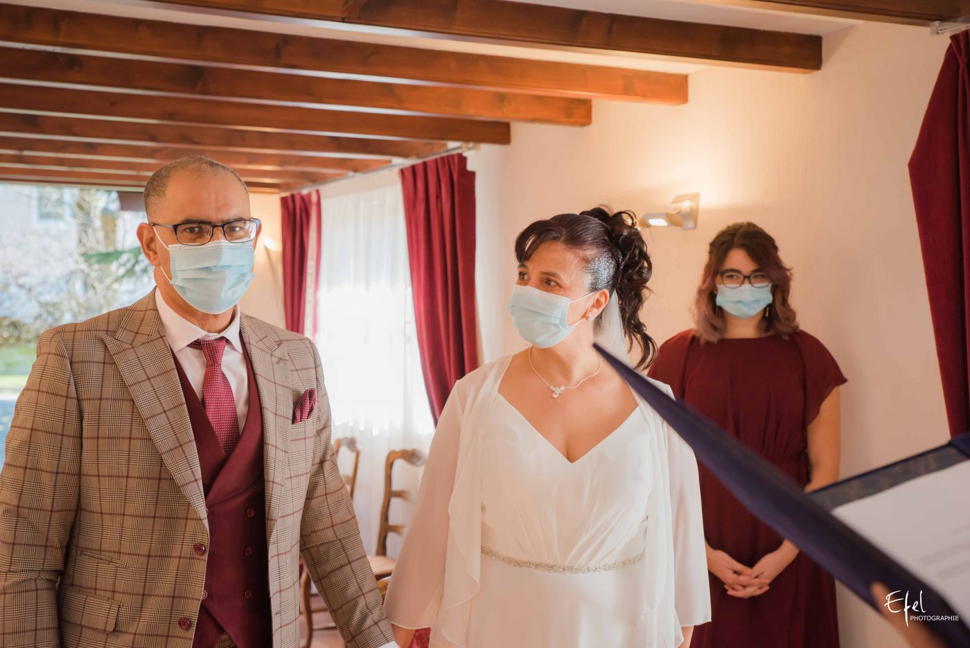 mariage gap regard de la mariée à son époux