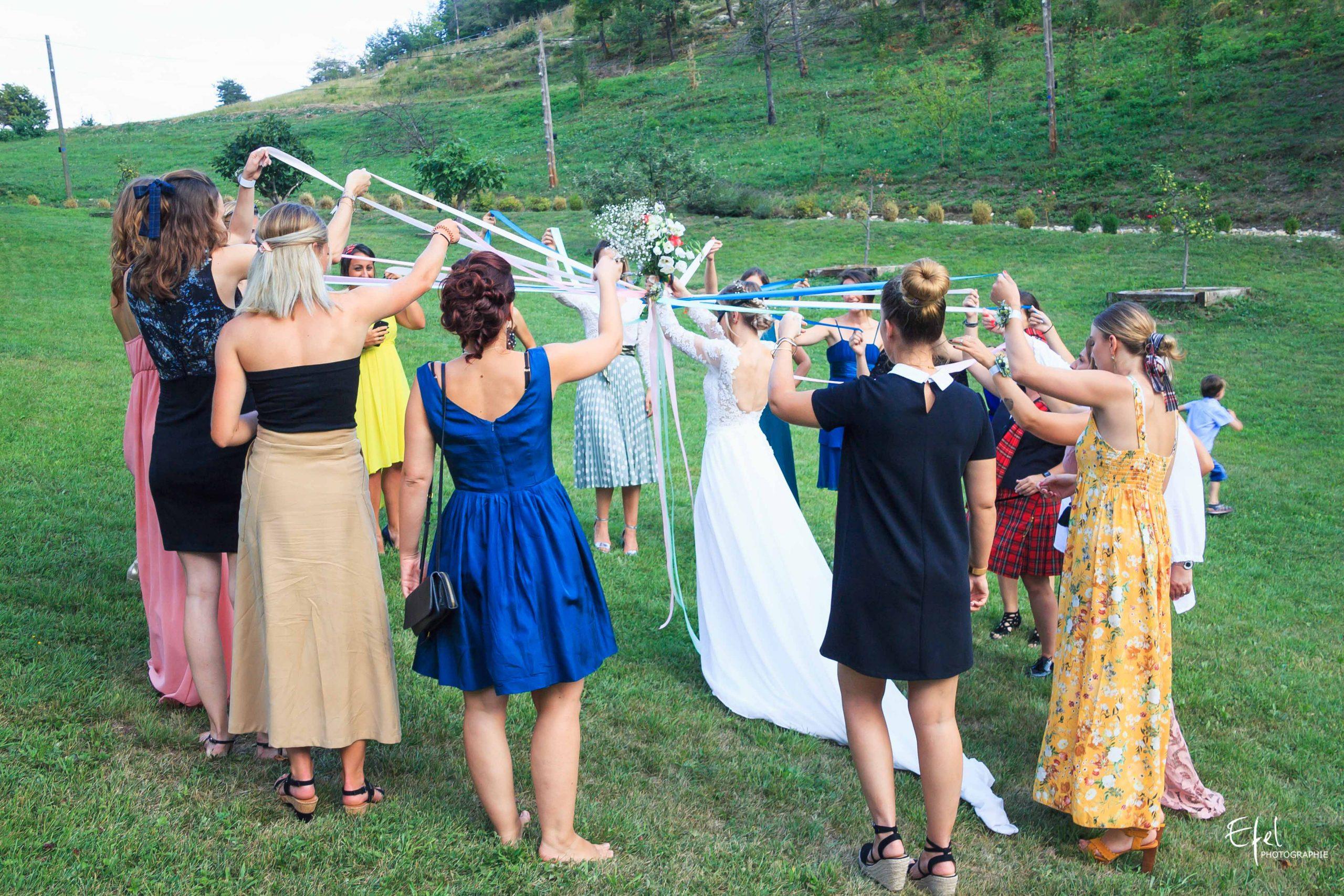 Activité vin d'honneur mariage photographe gap