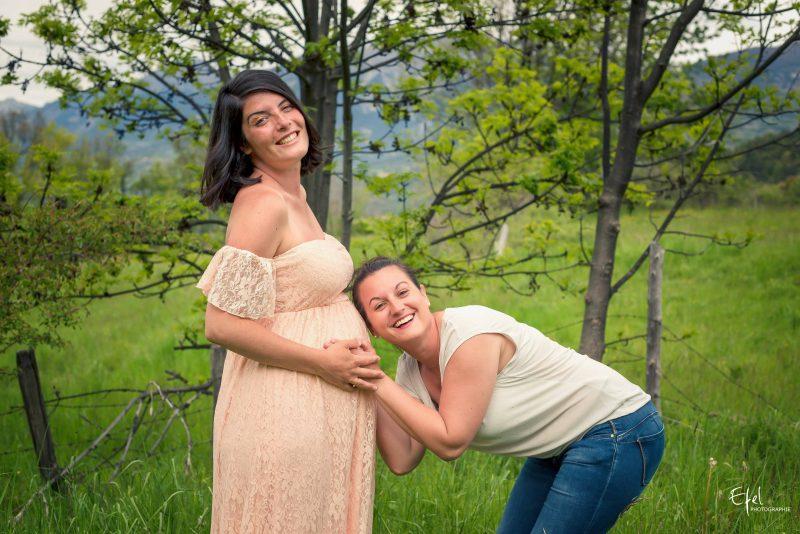 photo future maman Babyshower preès de Savines